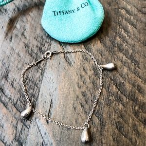 Tiffany & Co. Silver Teardrop Bracelet
